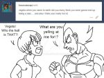 Ask Vegeta 6 by Camron23