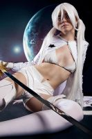 White Rock Shooter Cosplay 2010 by YtkaMatilda