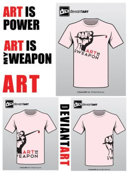 Semi-Finalist: 'MyWeapon' by deviantWEAR