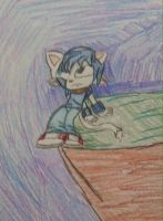 Badr the WolfCat by TjTheHedgiePlz