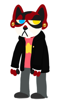Cat in NitW style by Mochinomster