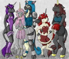 The Five Sisters. by causticardor