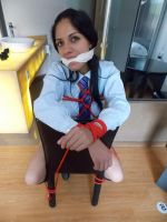 necktie cleave gag by aguze2