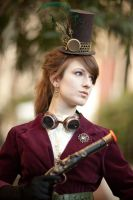 Steampunk Shoot 3 by LadyduLac