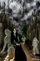 At the cemetery by SusanaDS-Stocks