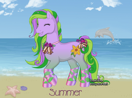 Summer - open by FoxxyBatmanAdopts