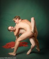 Nude Wrestling Men by TheMaleNudeStock