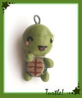 Turtle Charm by HanaClayWorks