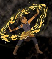 Avatar Korra - Fire by midnight-risu