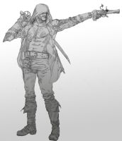 Edward Kenway - ASSASSIN'S CREED 4 by 1FAB