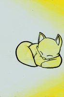 Yellow Fox by Alex-the-Cat