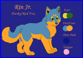 Pup 1: Rin Jr by Toby-Wolfkat