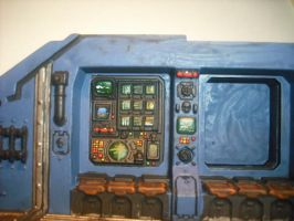 Land Raider Inside Side 1 by kablaamo