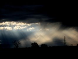 rays of sunlight 5 by EnforcedCrowd