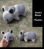 Mouse Plushie by CrowMaiden