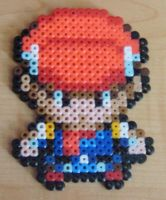 Trainer Lucas Perler Beads by Kabukiboy