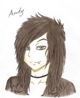 Andy Biersack by GothicKiller9