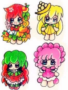 Fruit Chibis 2 for Adopt closed by SweetAdoptParadies