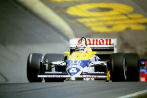 Nelson Piquet (Great Britain Tyre Test 1986) by F1-history