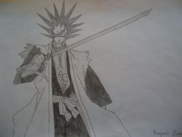 Kenpachi - Bleach by Valdemore