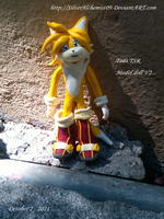 Tails figure by me  V.2. by SilverAlchemist09