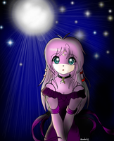 :The Moon Is Bright: by Moonlight-Echidna