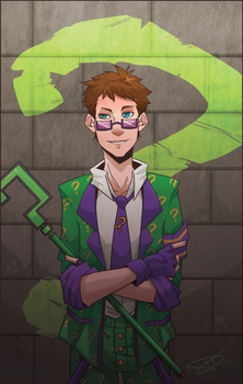 Arkham City: The Riddler by Re-DEE-Mer