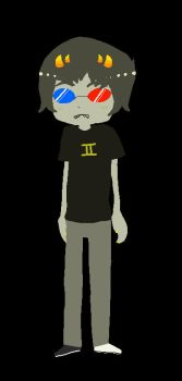 HS: Sollux Chibi by glompmaster