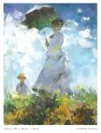 Woman With Parasol - Monet by Aucifiel