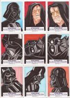 Star Wars Galactic Files Series 2 Sketch Cards 14 by Tyrant-1