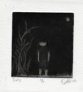 Sally in The Woods by Gotblog
