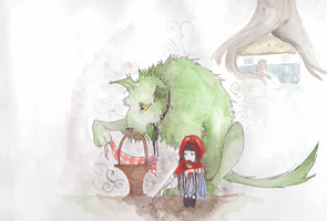 The Little Red Riding Hood 4 by Ryryna