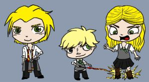 Lannisters go to Hogwarts! by LookAnOwl