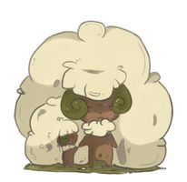 My mom is Whimsicott by makqoi