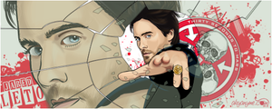 Jared Leto 30 seconds to mars by akyanyme
