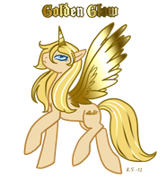 MLP Golden Glow Gen.2 to Gen.4 by The-Clockwork-Crow