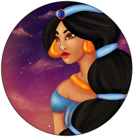 Princess Jasmine by Tiny-Owl
