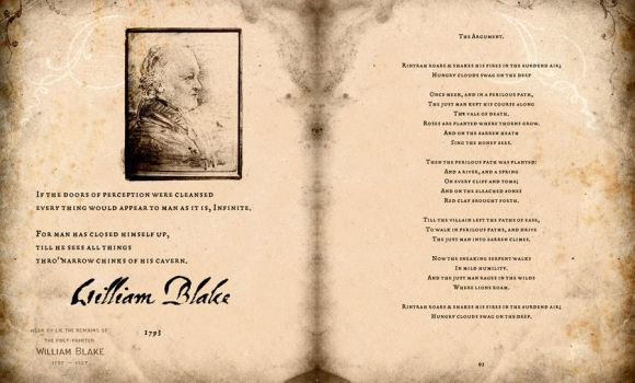 William Blake Proverbs of Hell 02-03 by ThinKingPub