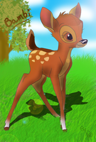 Bambi by Lungaa