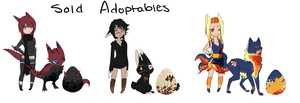 Easter Egg Adoptables- Hatched by Choco3va