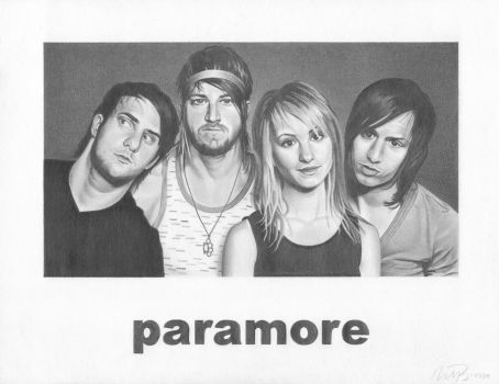 Paramore by mhprice