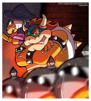 Villain Challenge - Bowser by Dragonith