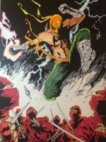 IronFist GaryBrown Colors JeremyScully by Drakelb