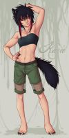 Art trade - Karie by frostious