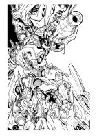 TRANSFORMERS by greatLP inked by gz12wk