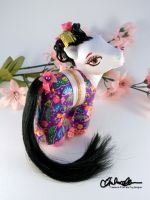 Akiko the Geisha Custom MLP by thatg33kgirl