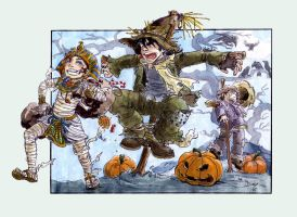 Contest : Stealin' Halloween by Naa-