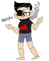 Five Night's at Mark's- Markiplier Animatronic by Monodes