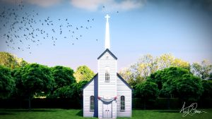 Clapboard Church by theACB