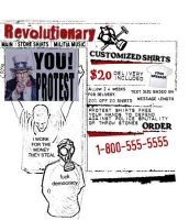 Protest T-shirts by a-thin-king